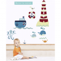 Beside the Seaside Wall Stickers