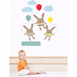 Up, Up and Away Wall Stickers