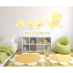 Marching Ducks Wall Stickers