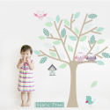 Fabric Tree Wall Sticker