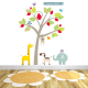 Sunny Safari Fabric Wall Stickers