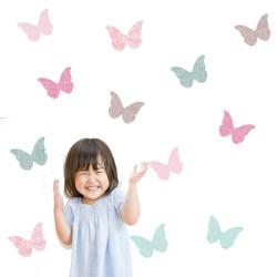 Bespoke Linen Butterflies