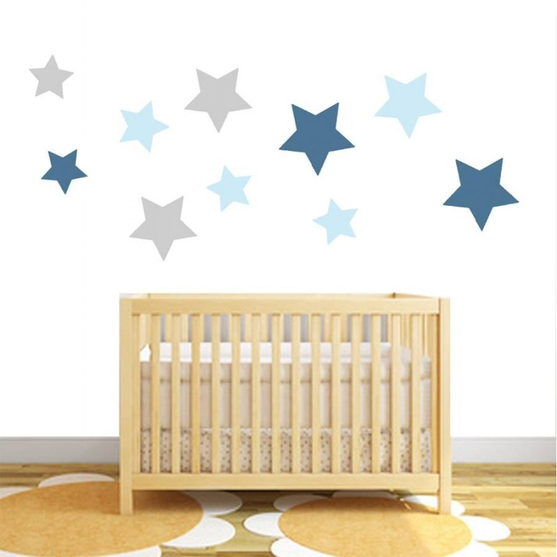 fabric star stickers star wars yoda wall sticker