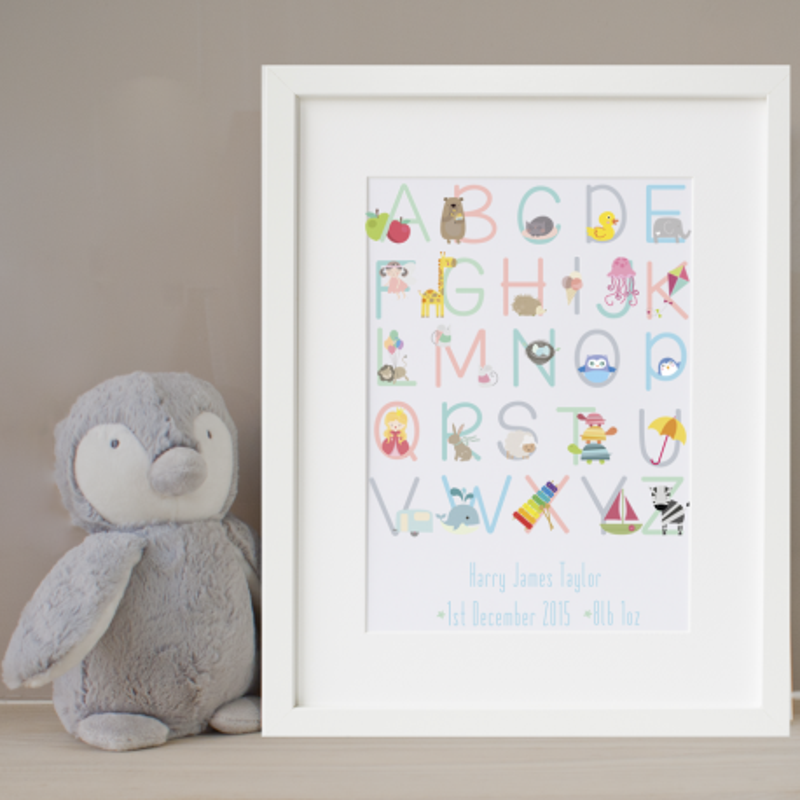 Personalised Noah's Ark Print