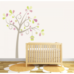 Pretty Tree Wall Sticker