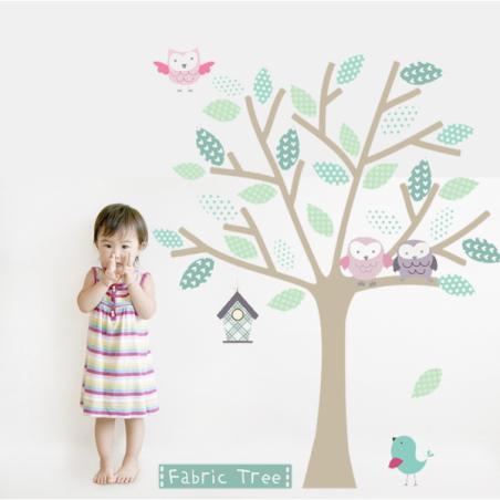 Fabric Tree Wall Sticker