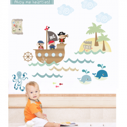 Pirates Wall Stickers