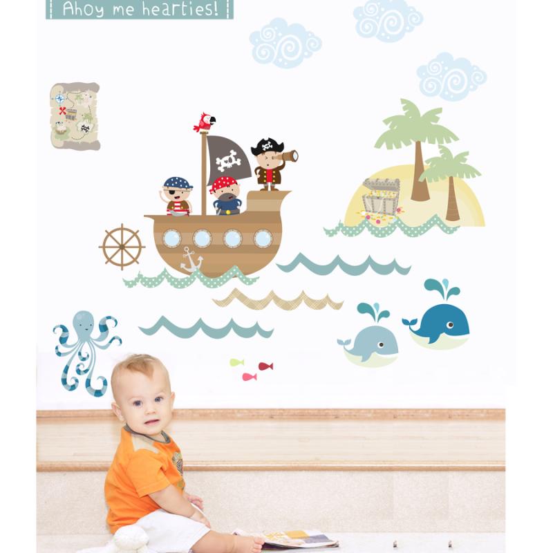 Pirates Wall Stickers