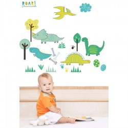 Littlesaurus Dinosaur Wall Stickers