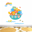 Noah's Ark Brights Fabric Wall Stickers