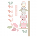 Springtime Owl Height Chart